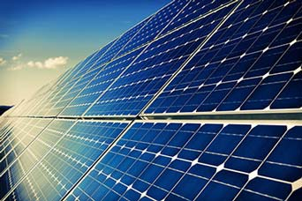 image of outdoor solar panels